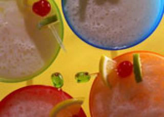 Smoothie abricot-pêche