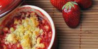 10. Crumble aux amandes et aux fruits rouges