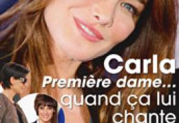 Carla Bruni, Point de vue